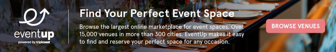 Find the perfect event space with EventUp