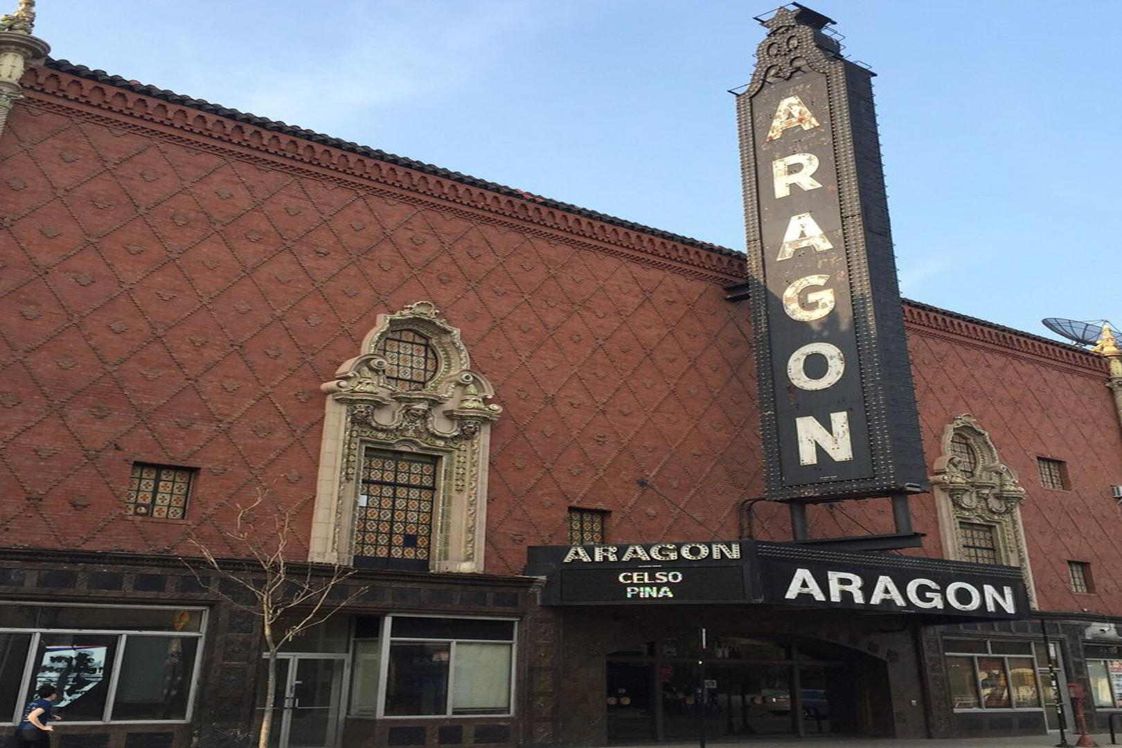 space at Aragon Ballroom