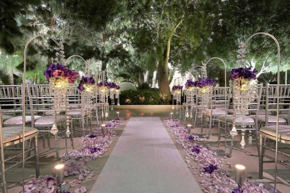 space at ARIA Weddings