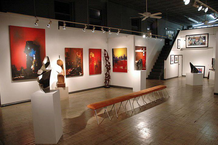 space at Art Village Gallery Inc