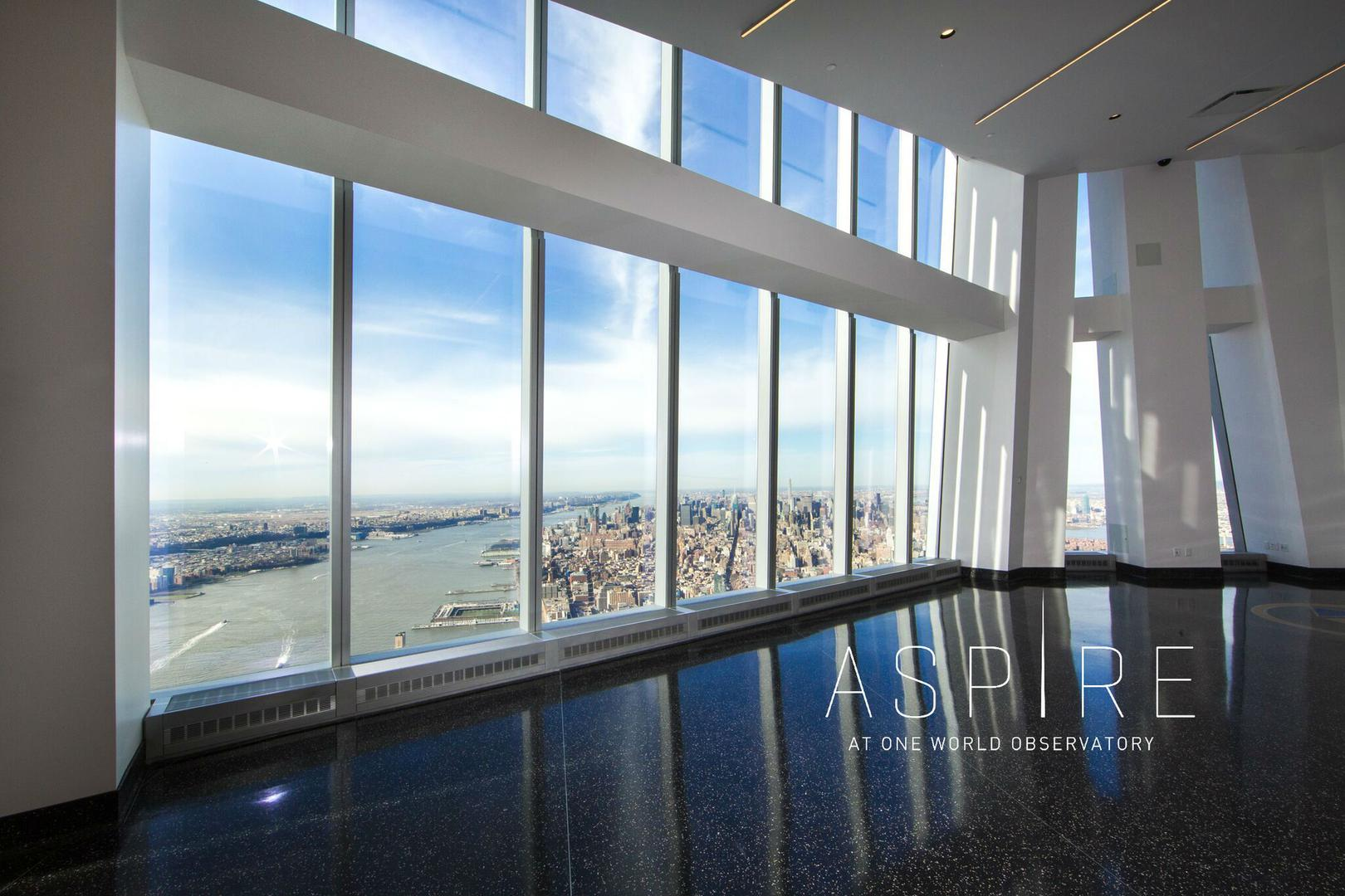 space at ASPIRE at One World Observatory