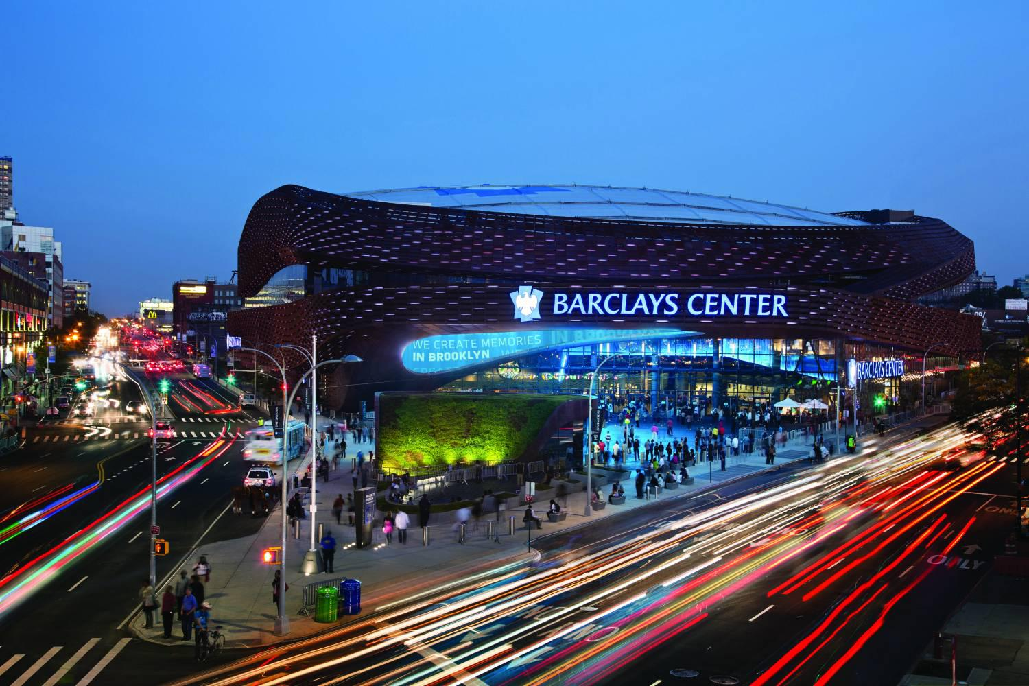 space at Barclays Center