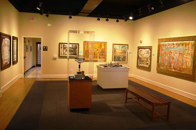 space at Belz Museum of Asian & Judaic Art