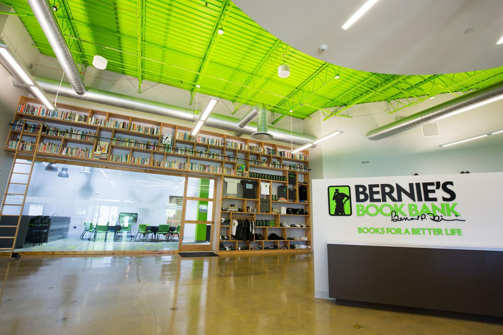 space at Bernie's Book Bank