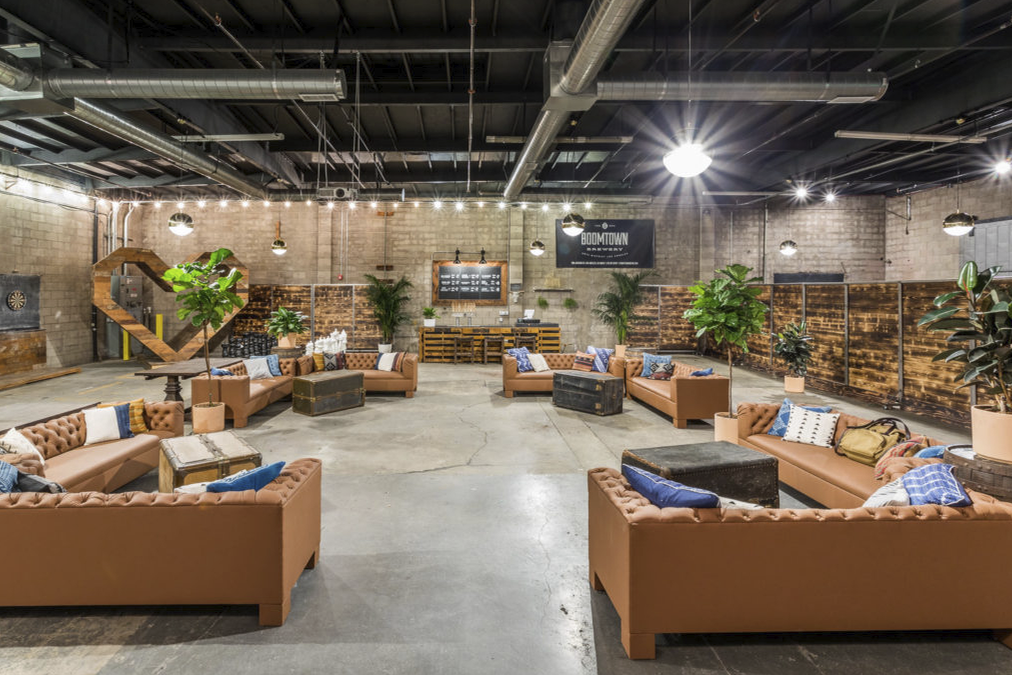 space at Boomtown Brewery