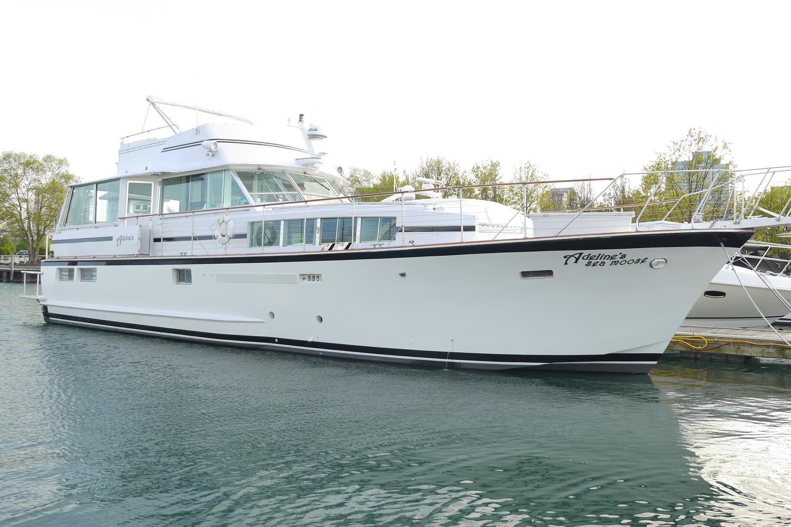 space at Chicago Private Yacht Rentals