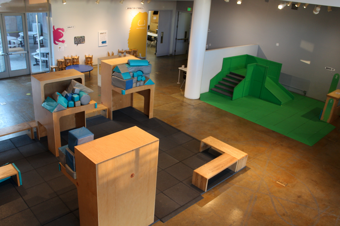 space at Children's Creativity Museum