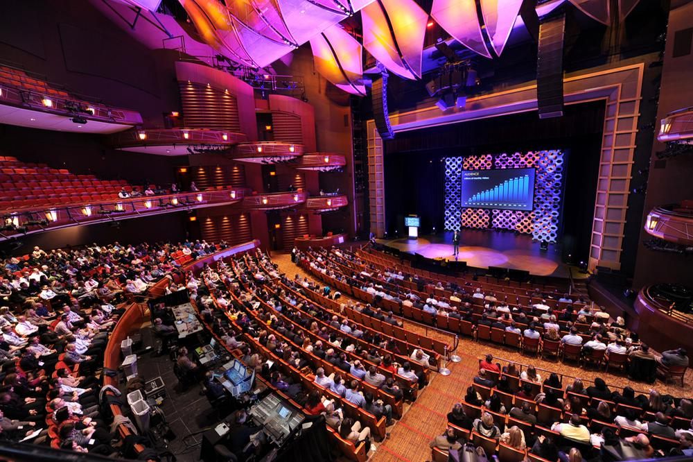 space at Cobb Energy Performing Arts Centre