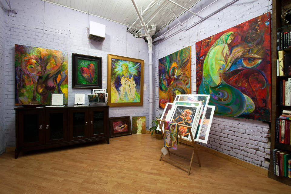 space at Debra Benditz Art Studios