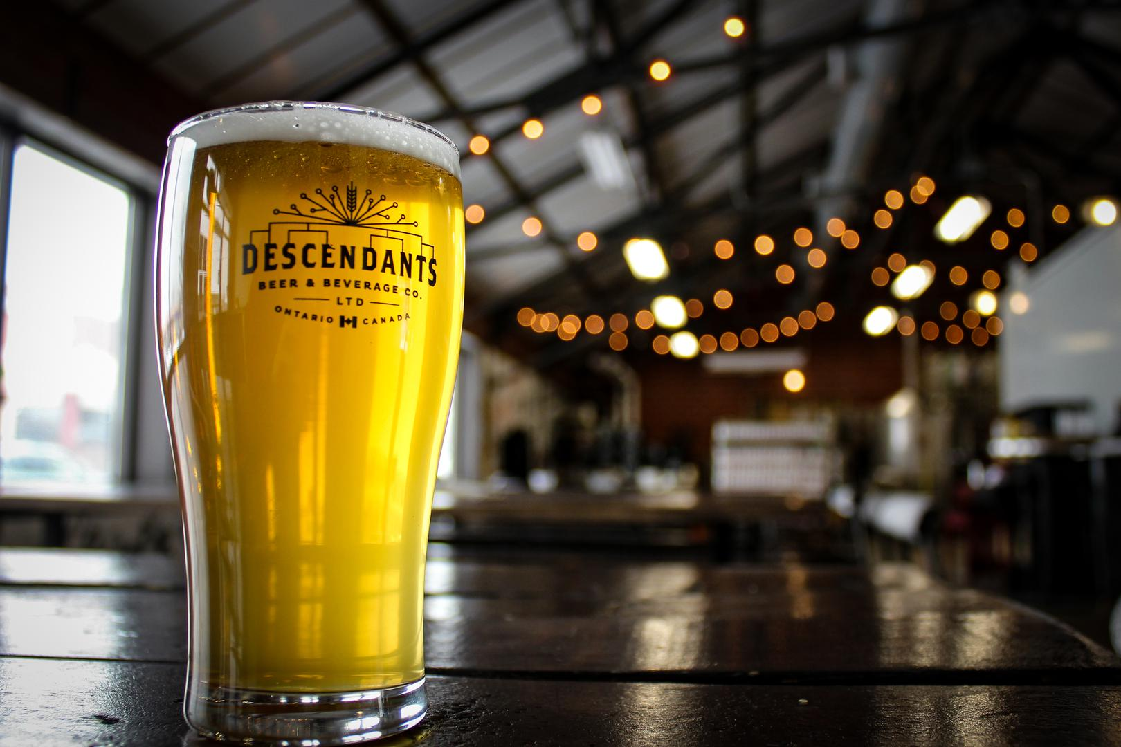 space at Descendants Beer and Beverage Co. Ltd.