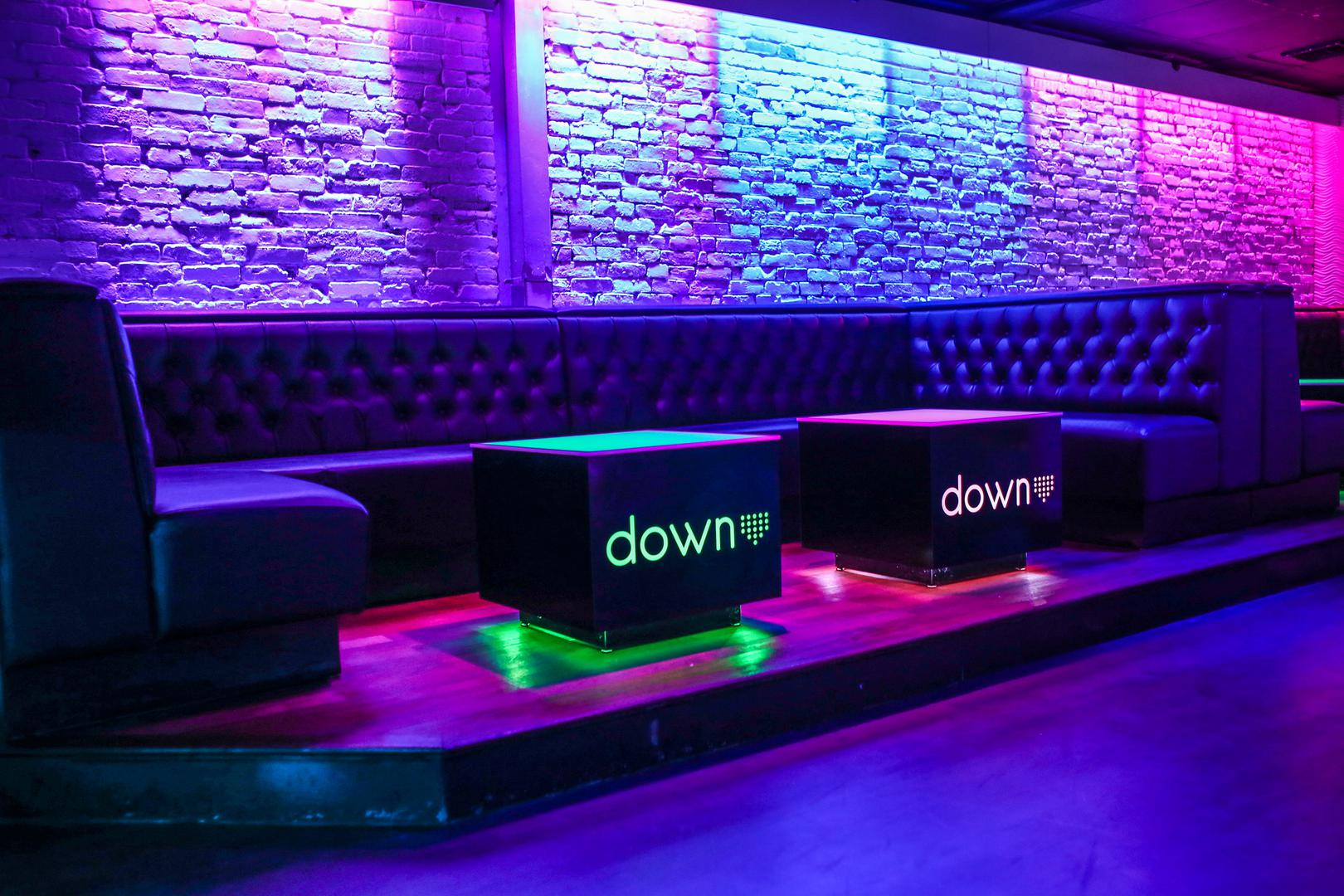 space at Down Ultra Lounge