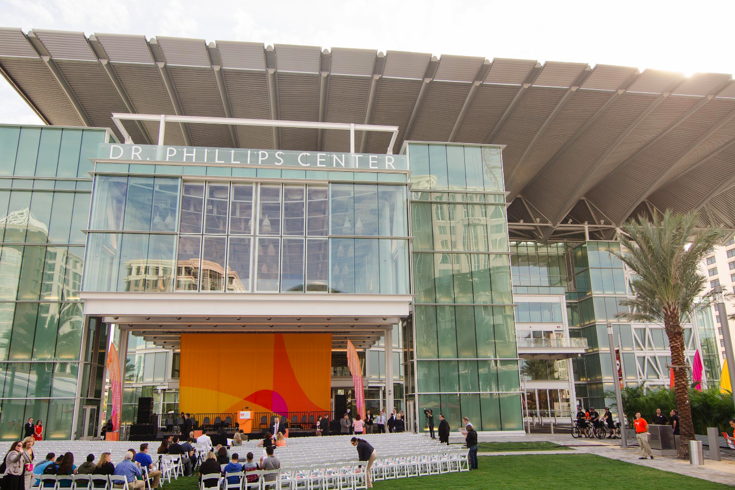 space at Dr. Phillips Center