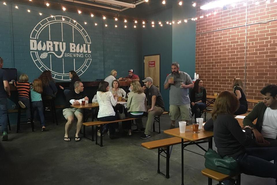 space at Durty Bull Brewing Company