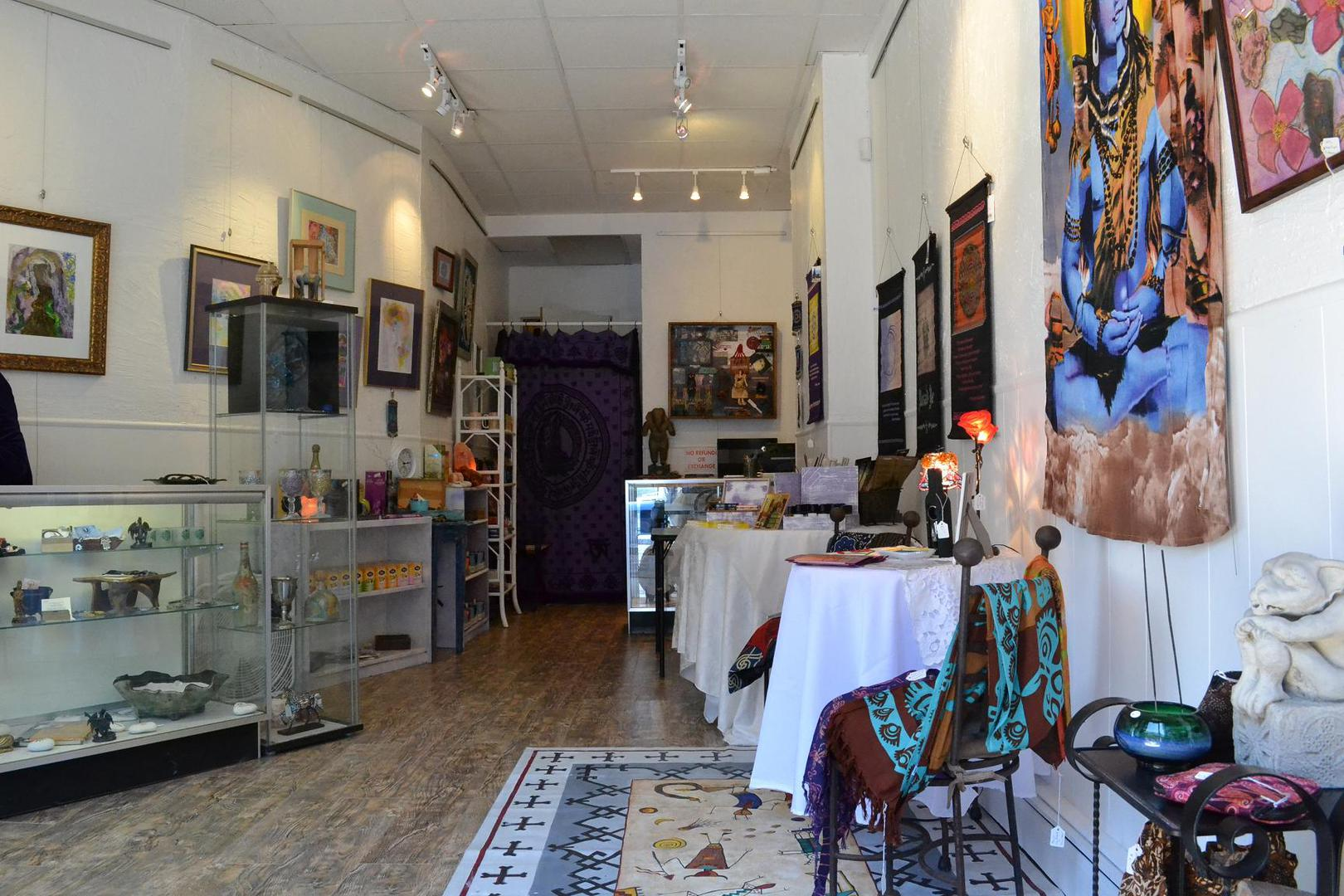 space at Eclectics Gift Gallery Ltd