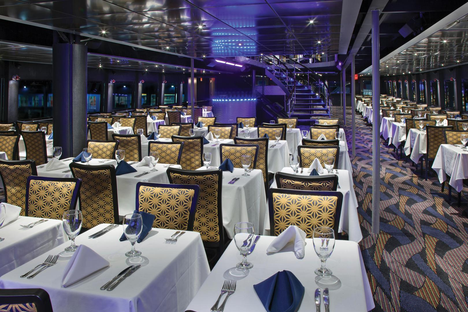space at Entertainment Cruises New York