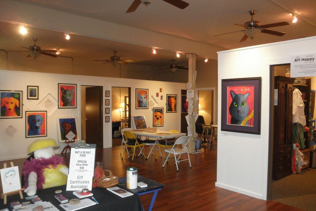 space at Expressive Arts @ 32nd & Thorn