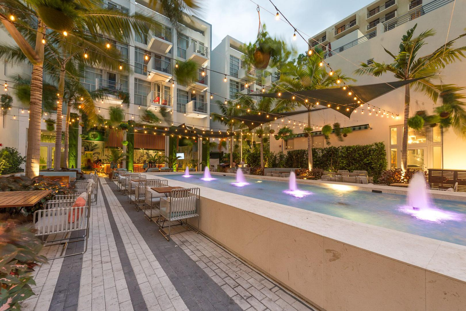 space at Fairwind Hotel Miami