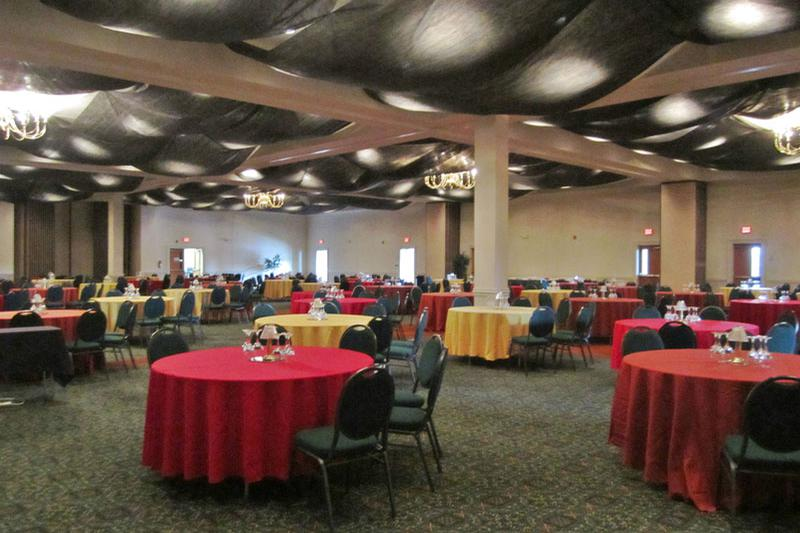 space at Fredericksburg Expo Center Ballroom