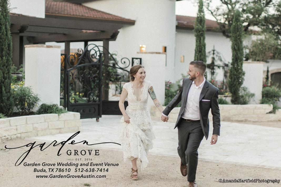 space at Garden Grove Wedding and Event Venue