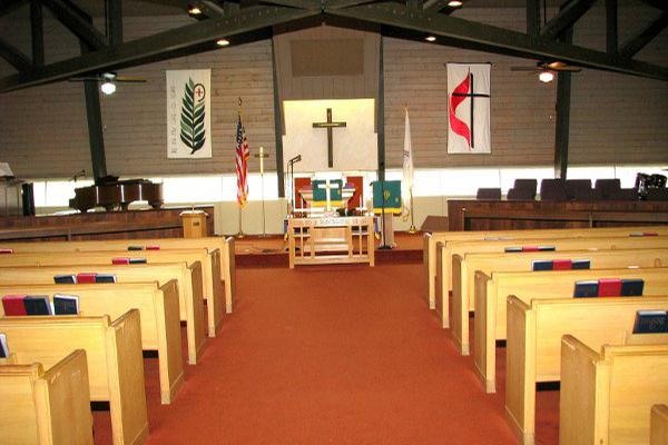 space at Good Shepherd United Methodist Church