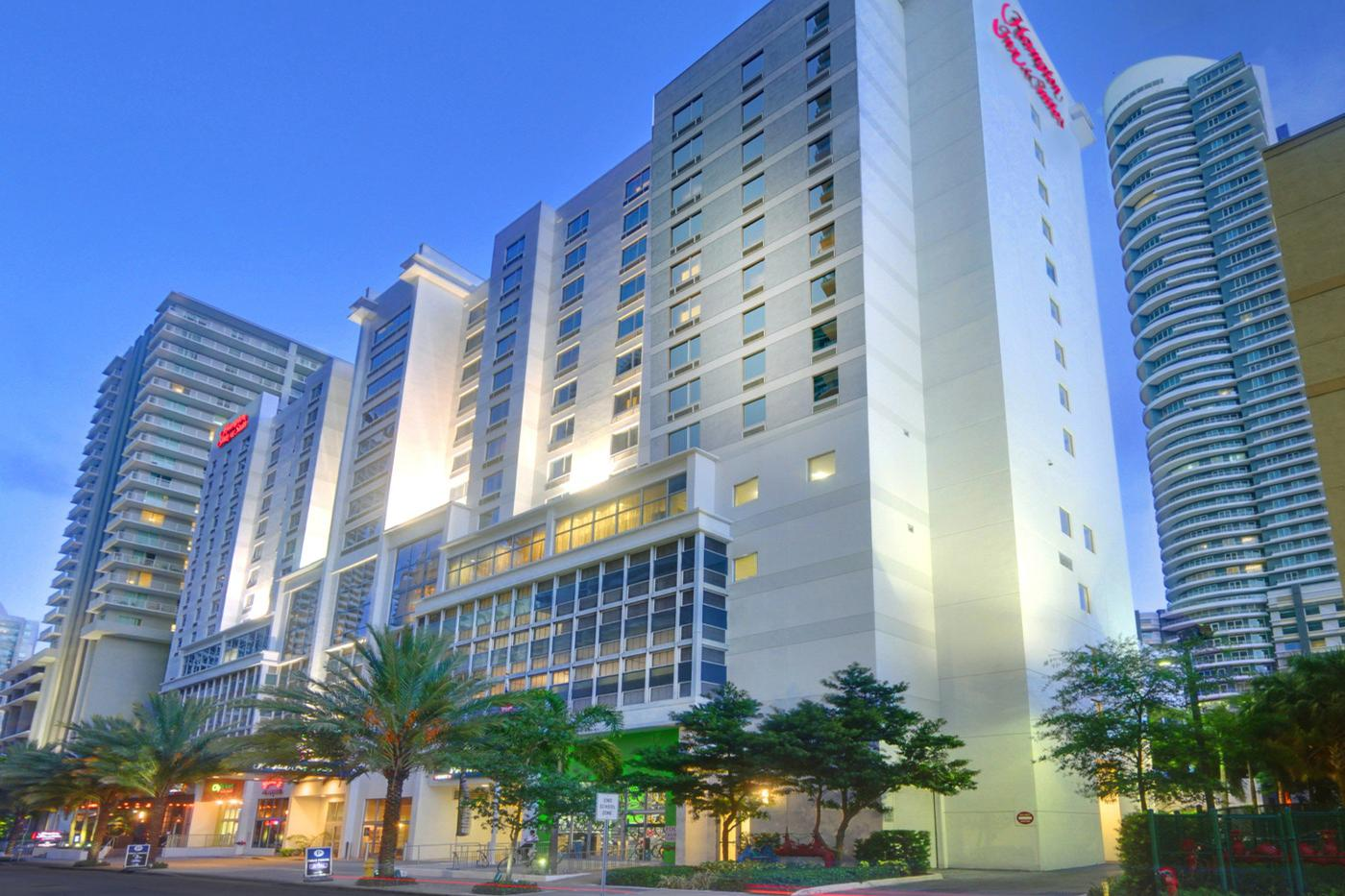 space at Hampton Inn & Suites Miami Brickell Downtown