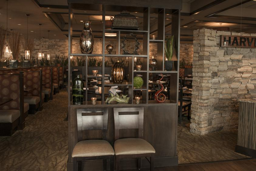space at Harvest Seasonal Grill and Wine Bar