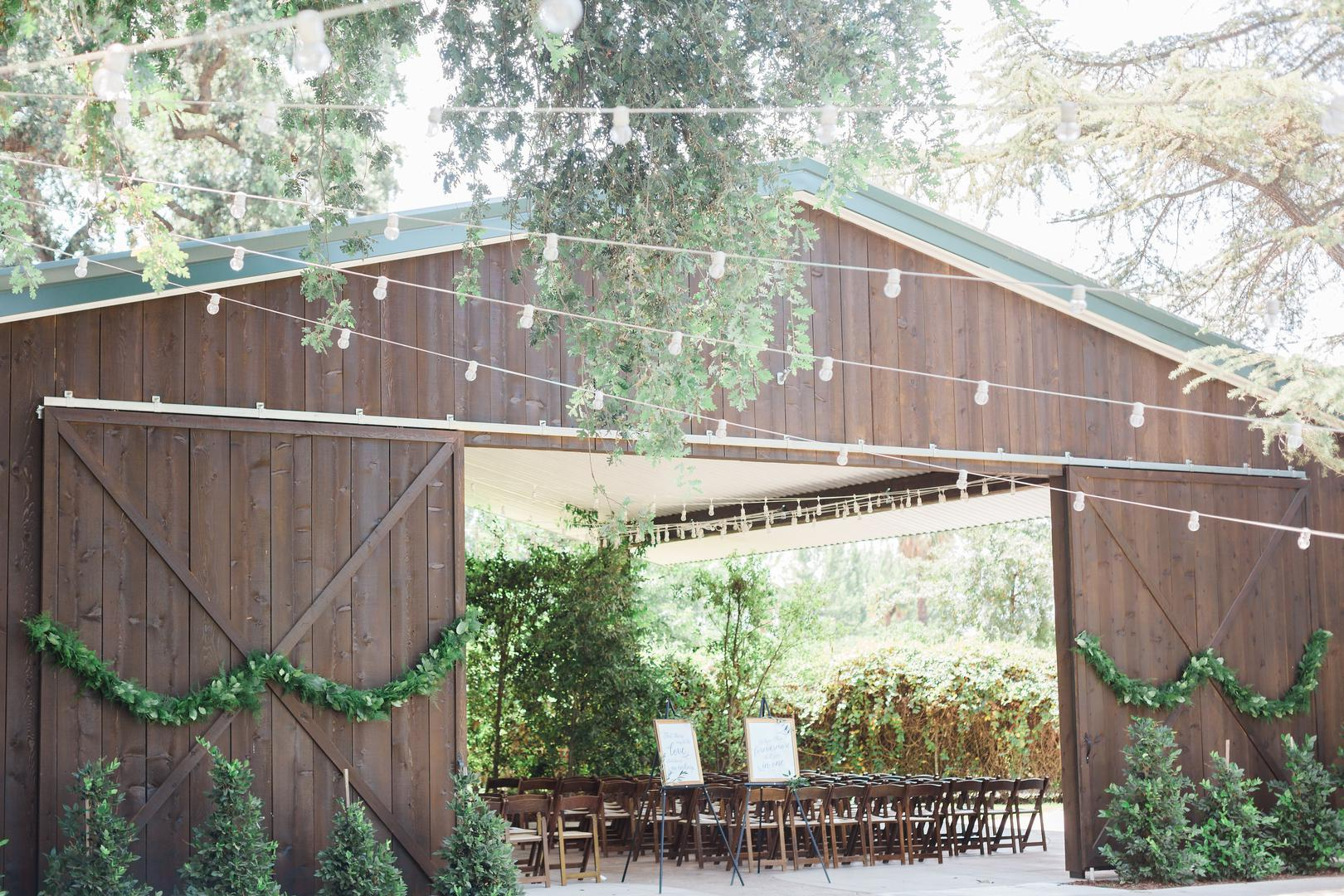 space at Historic Seven Sycamores Ranch