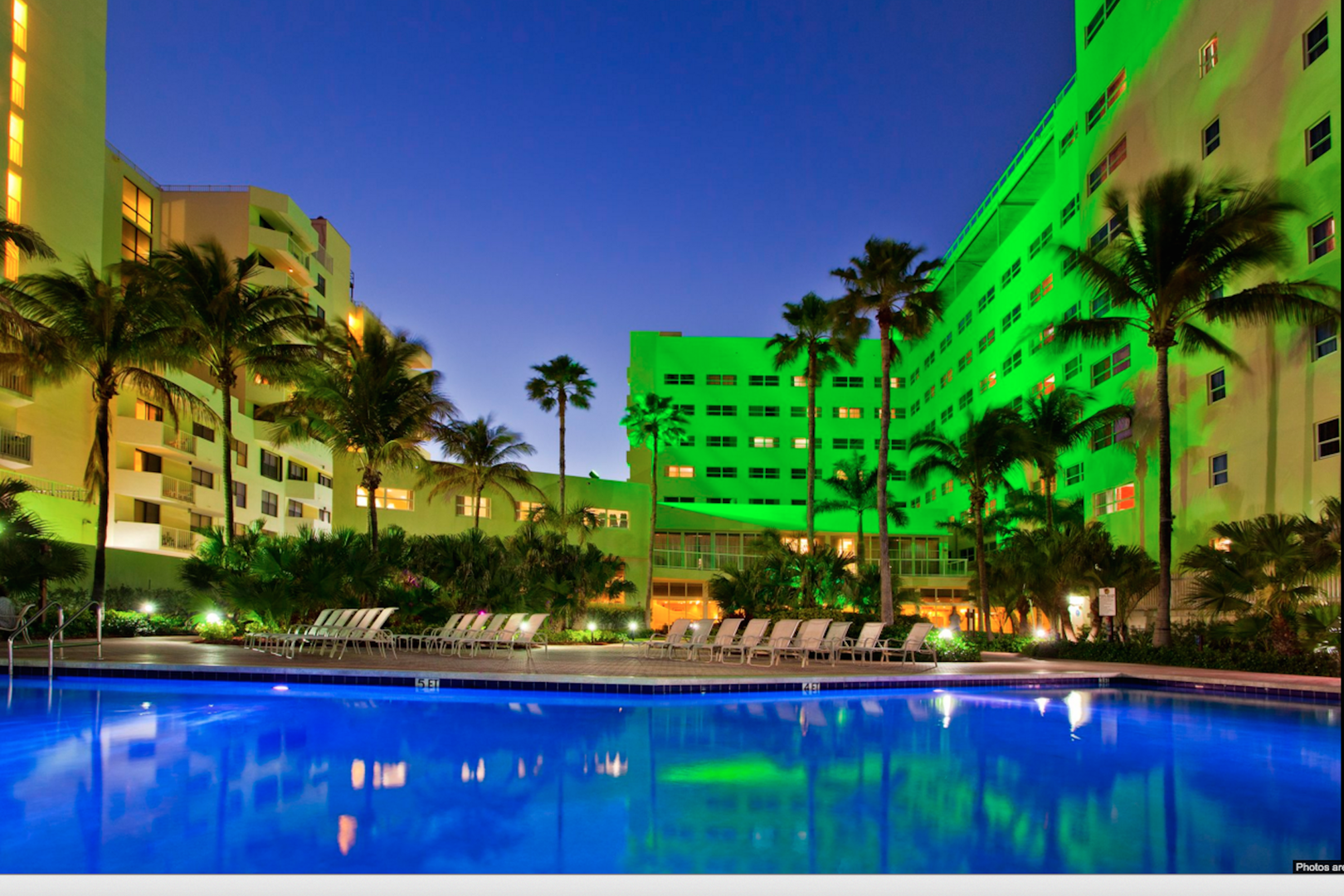 space at Holiday Inn Miami Beach - Oceanfront