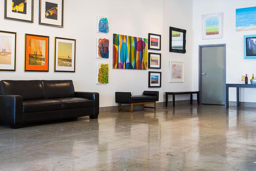 space at Hook Gallery & Framing
