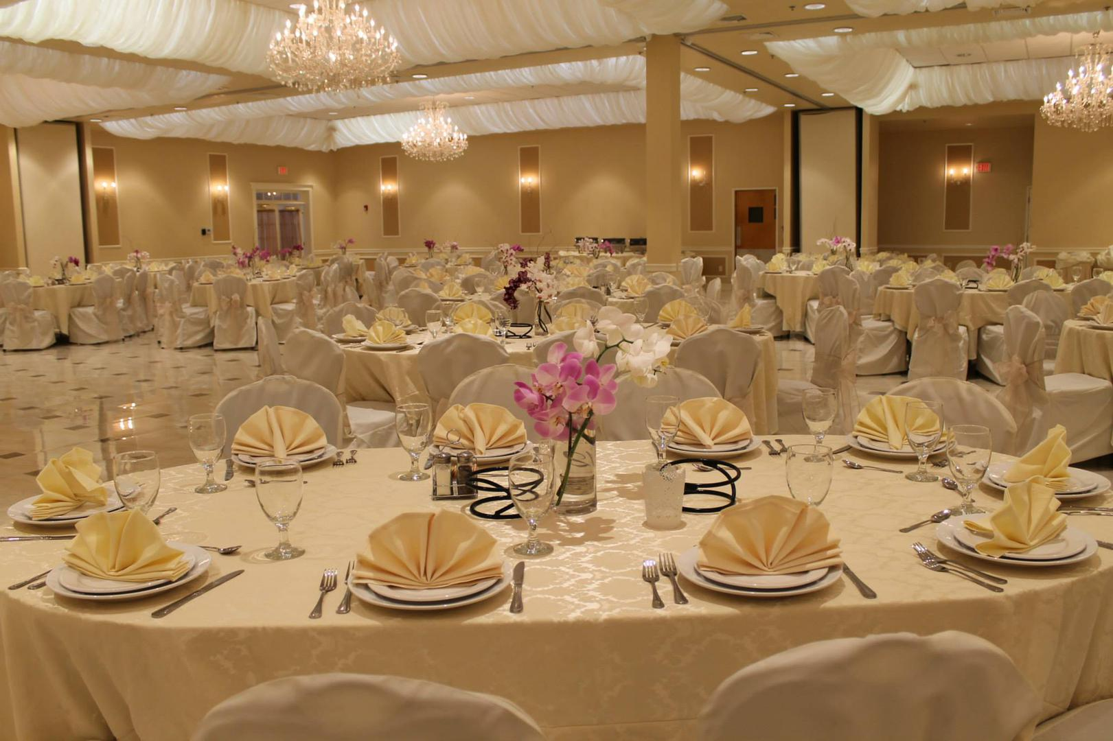 space at Ideal Banquet Hall