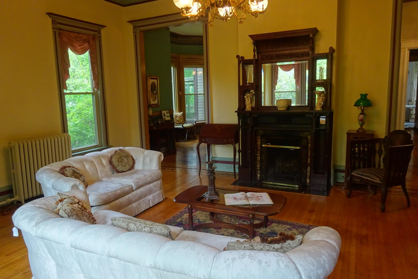 space at Ingersoll-Blackwelder Mansion