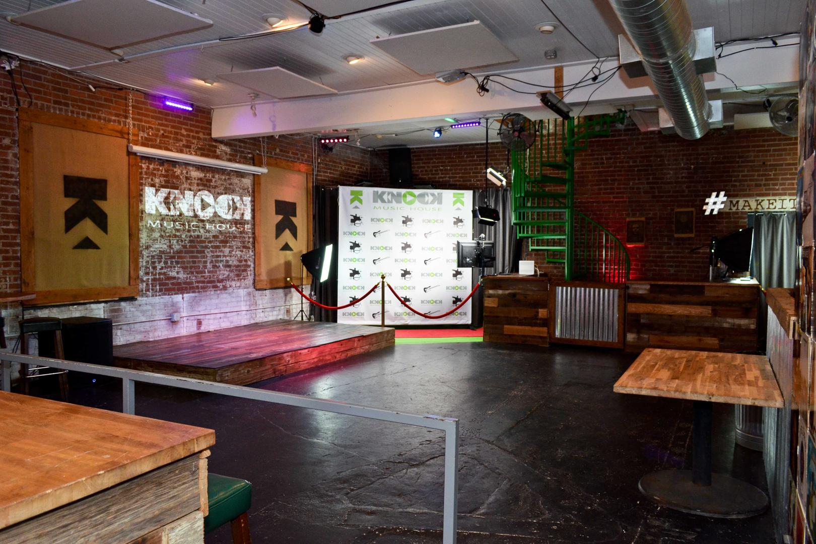 space at Knock Music House