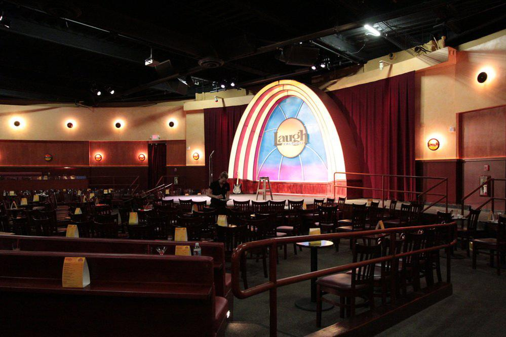 space at Laugh Factory Long Beach