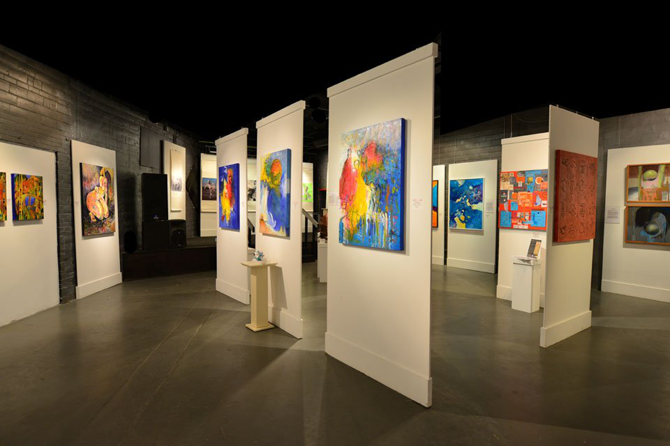 space at LuminArte Gallery