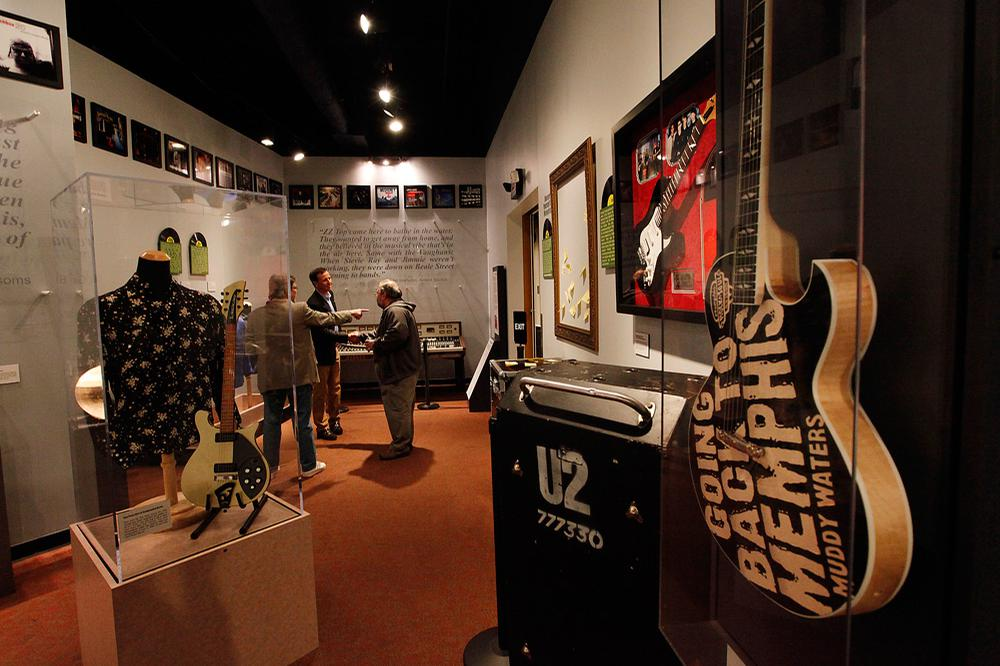 space at Memphis Rock 'n' Soul Museum