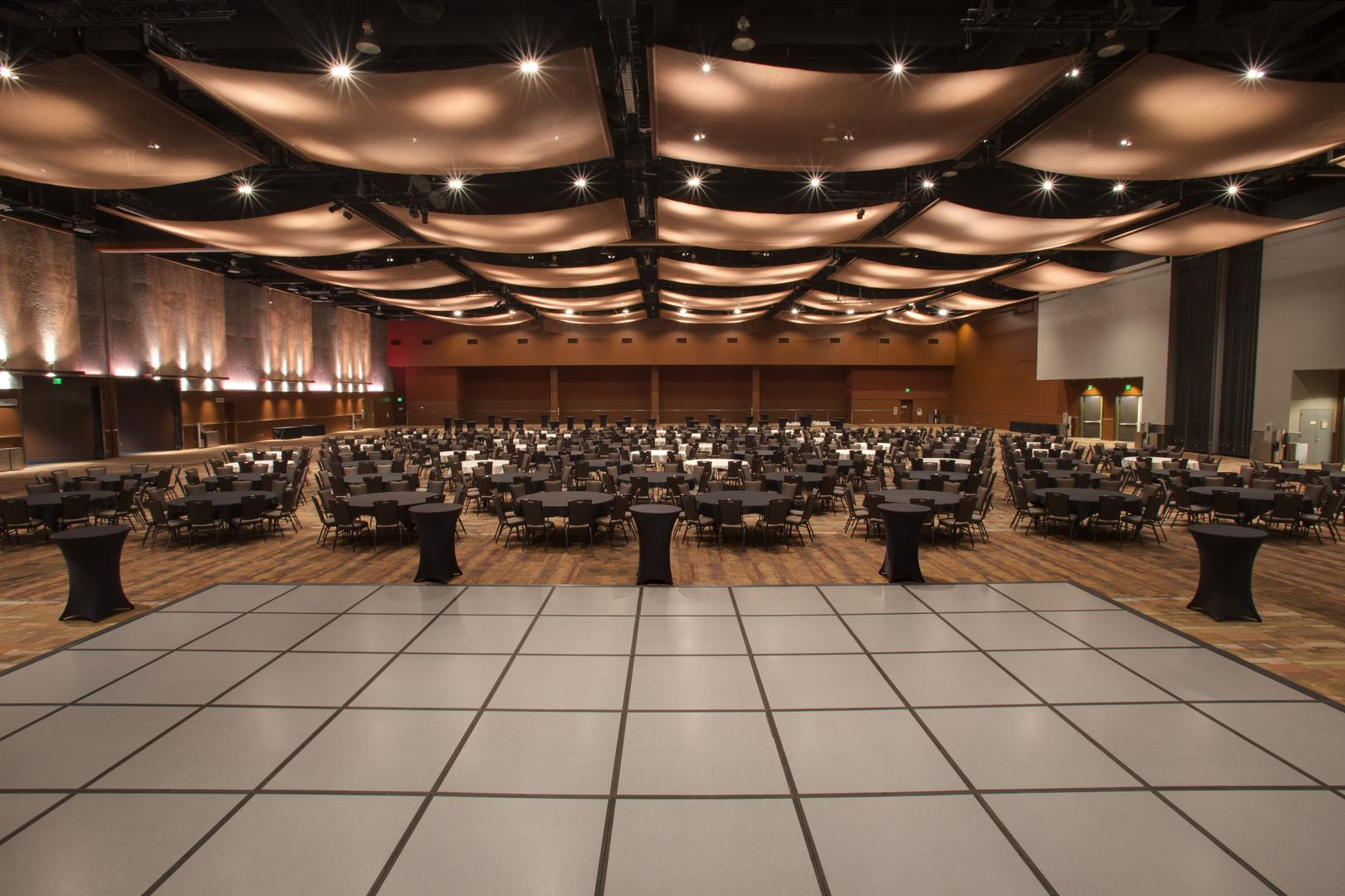 space at Meydenbauer Convention Center