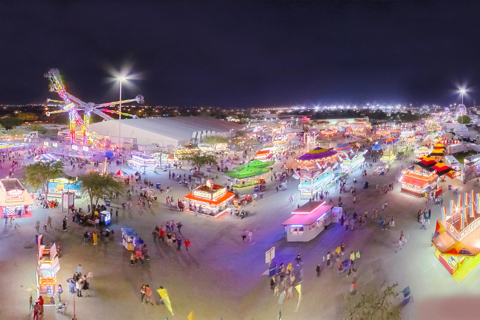 space at Miami Dade Country Fair and Exposition,