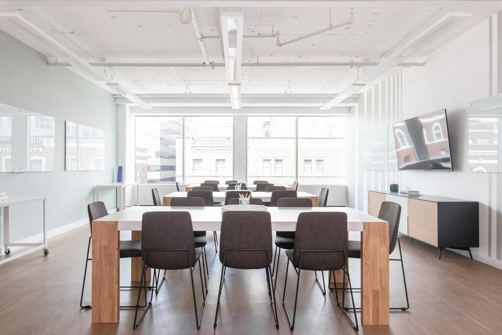 space at Modern, Bright Meeting Space on Capitol Hill