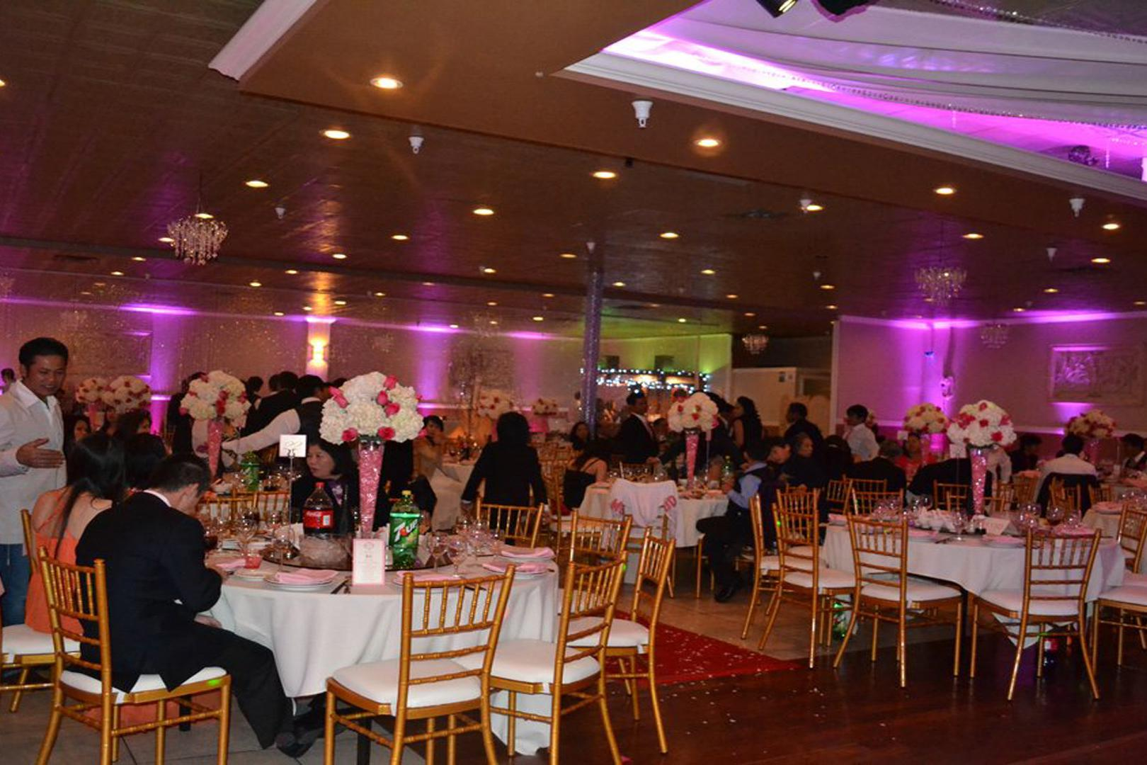 space at Mon Amour Banquet Hall