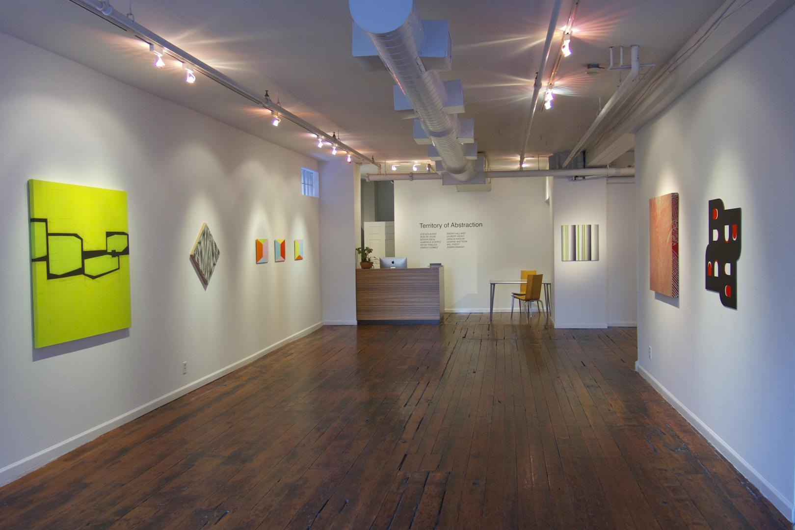 space at Pentimenti Gallery