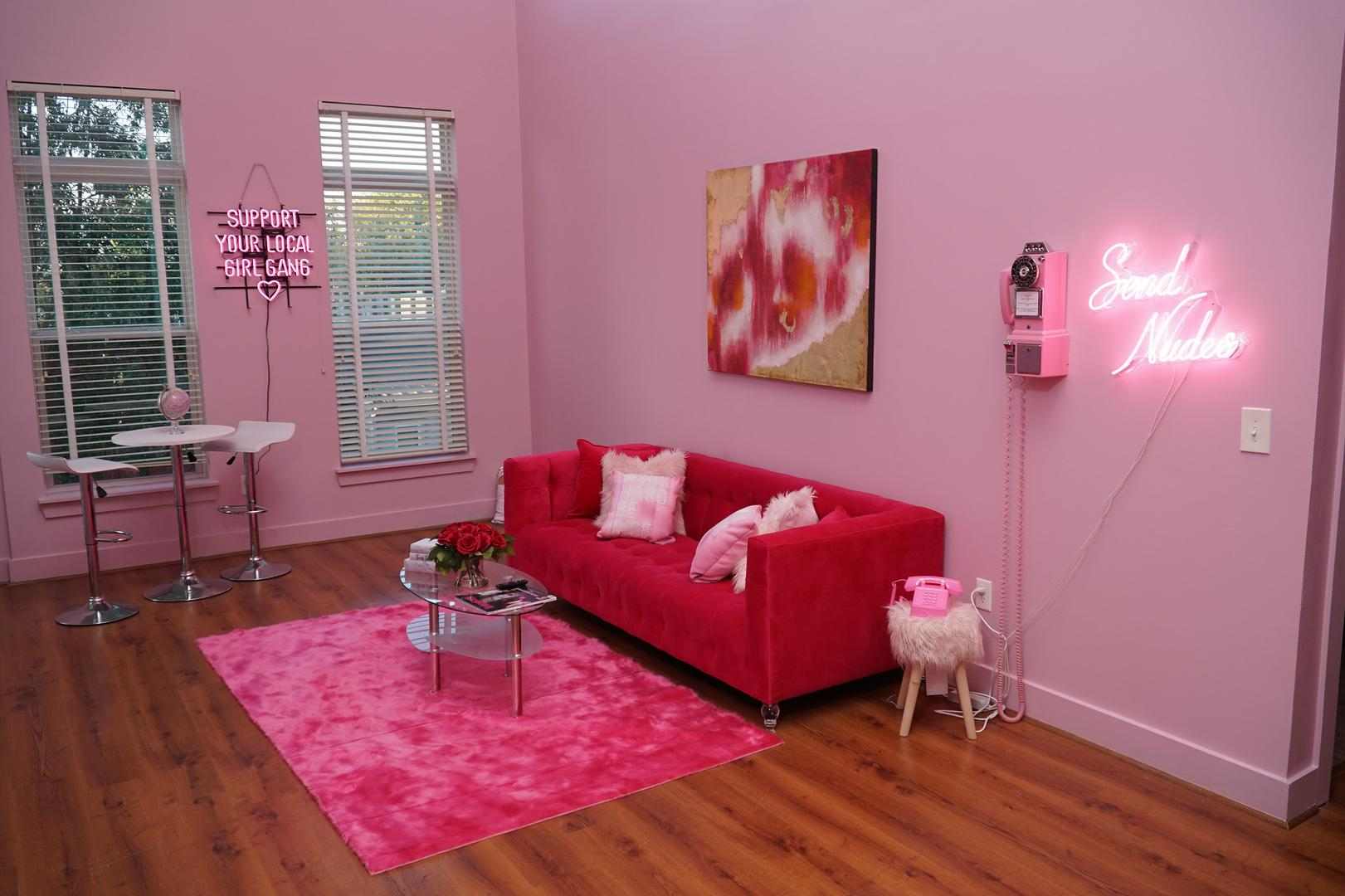 Pink Babe Cave Corporate Events Wedding Locations Event Spaces