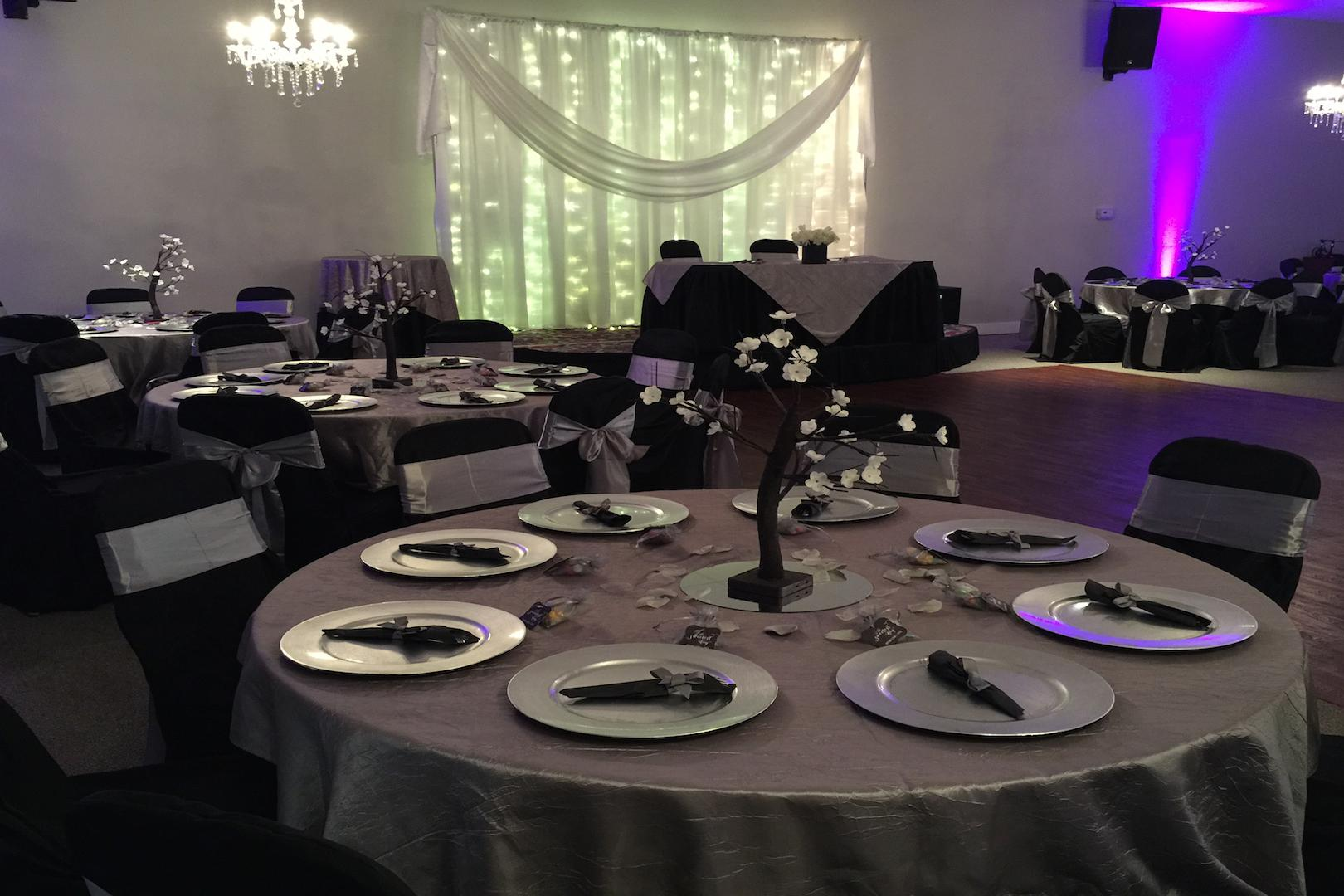 space at Prestige Banquet & Event Center