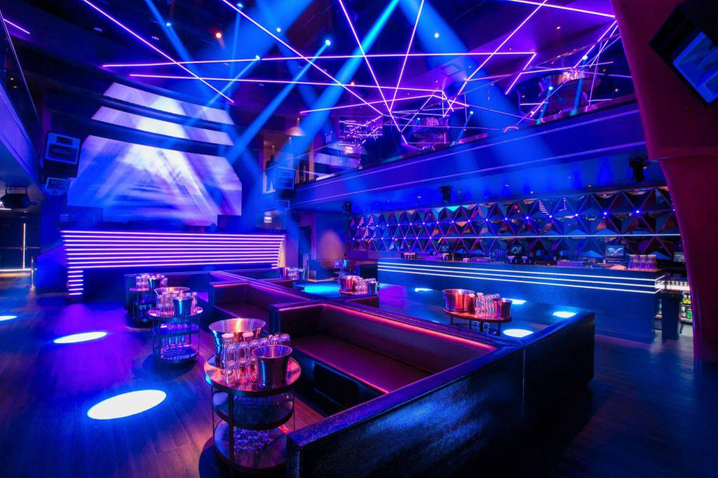 space at PRYSM Nightclub