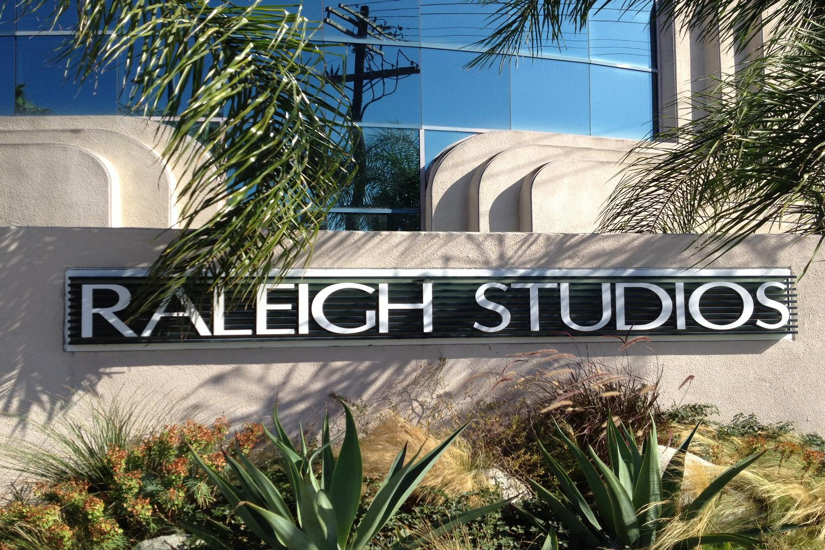 space at Raleigh Studios - Hollywood