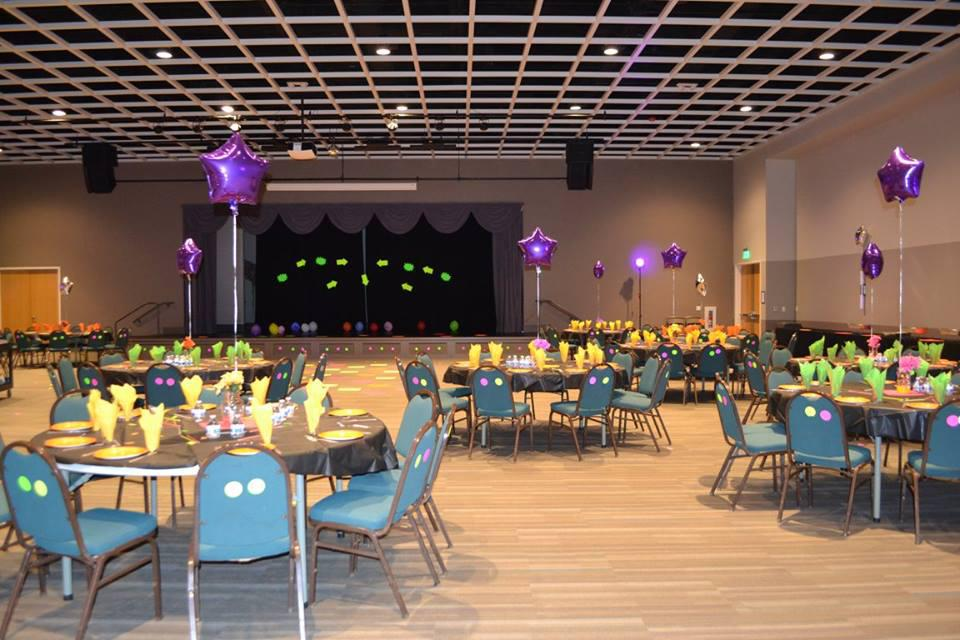 space at Rosen Event Center
