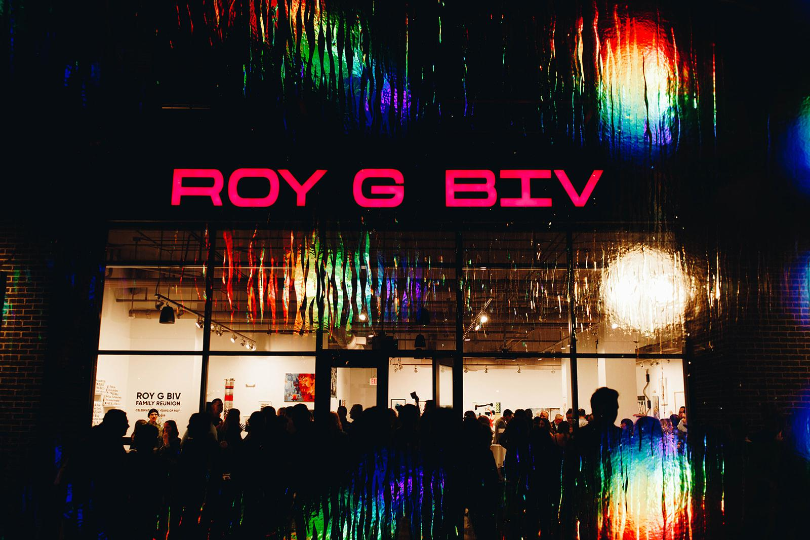 space at Roy G Biv Gallery