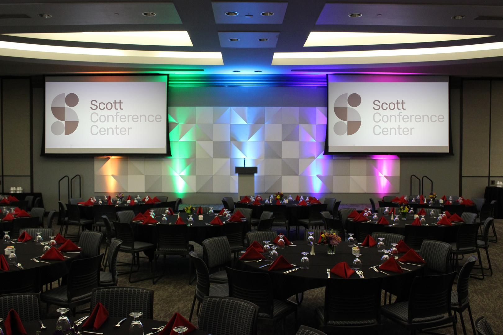 space at Scott Conference Center