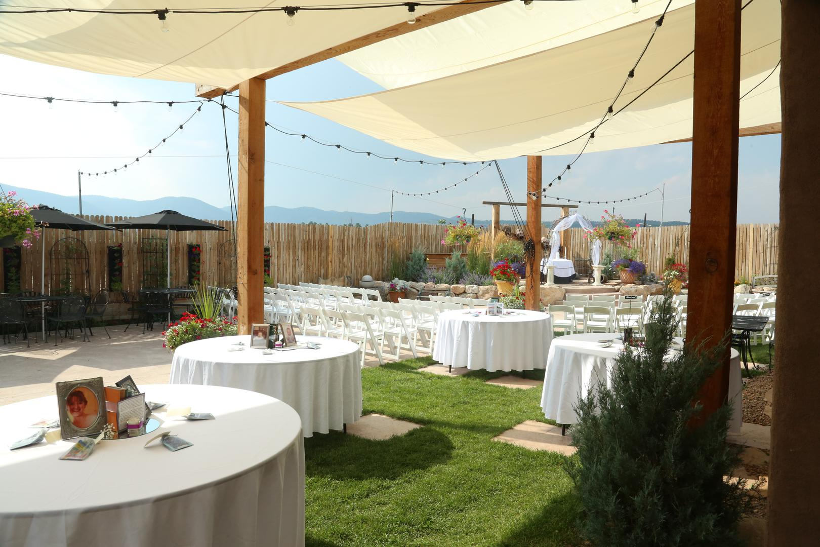 space at Secret Window Weddings and Events