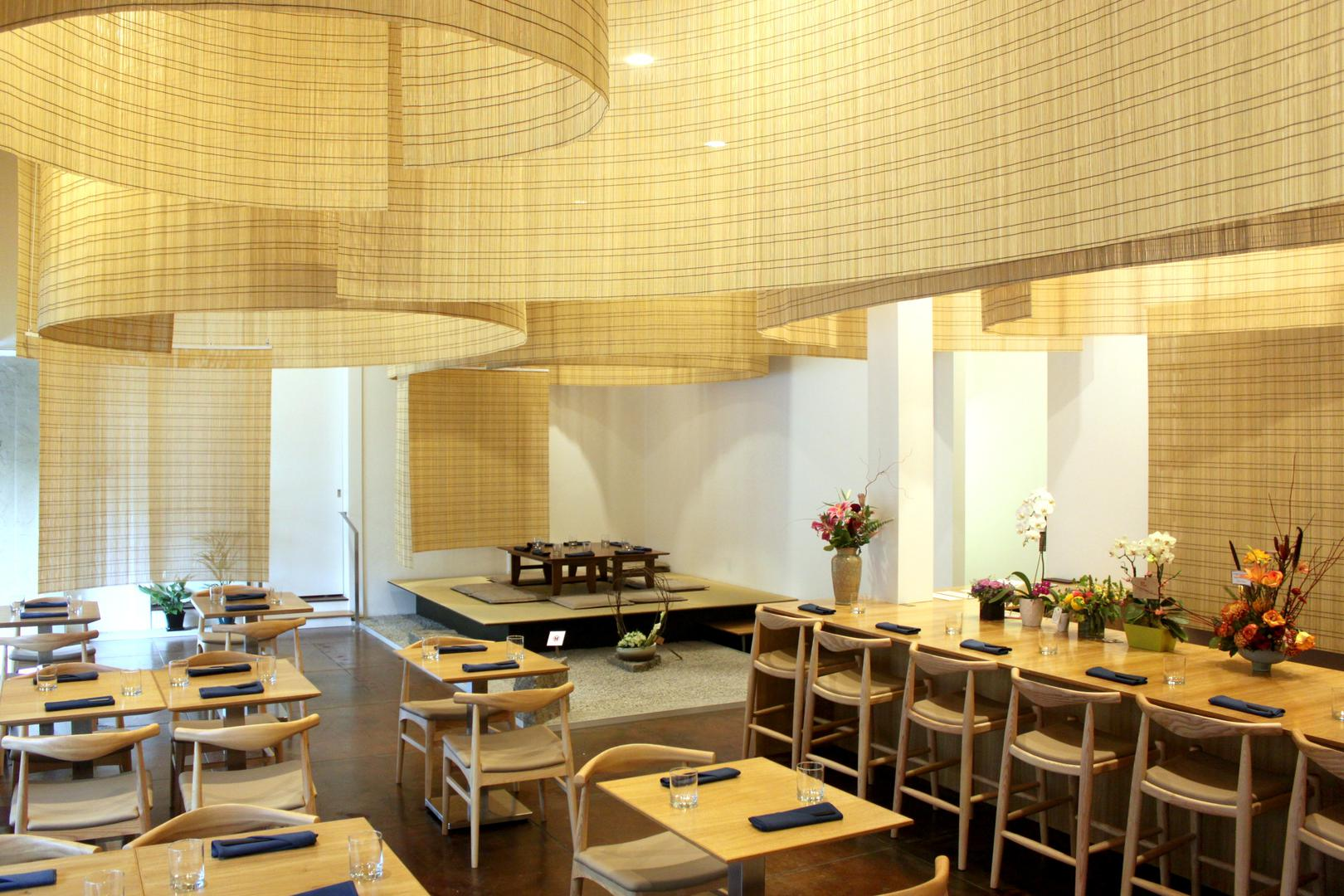 space at Shizuku by Chef Naoko