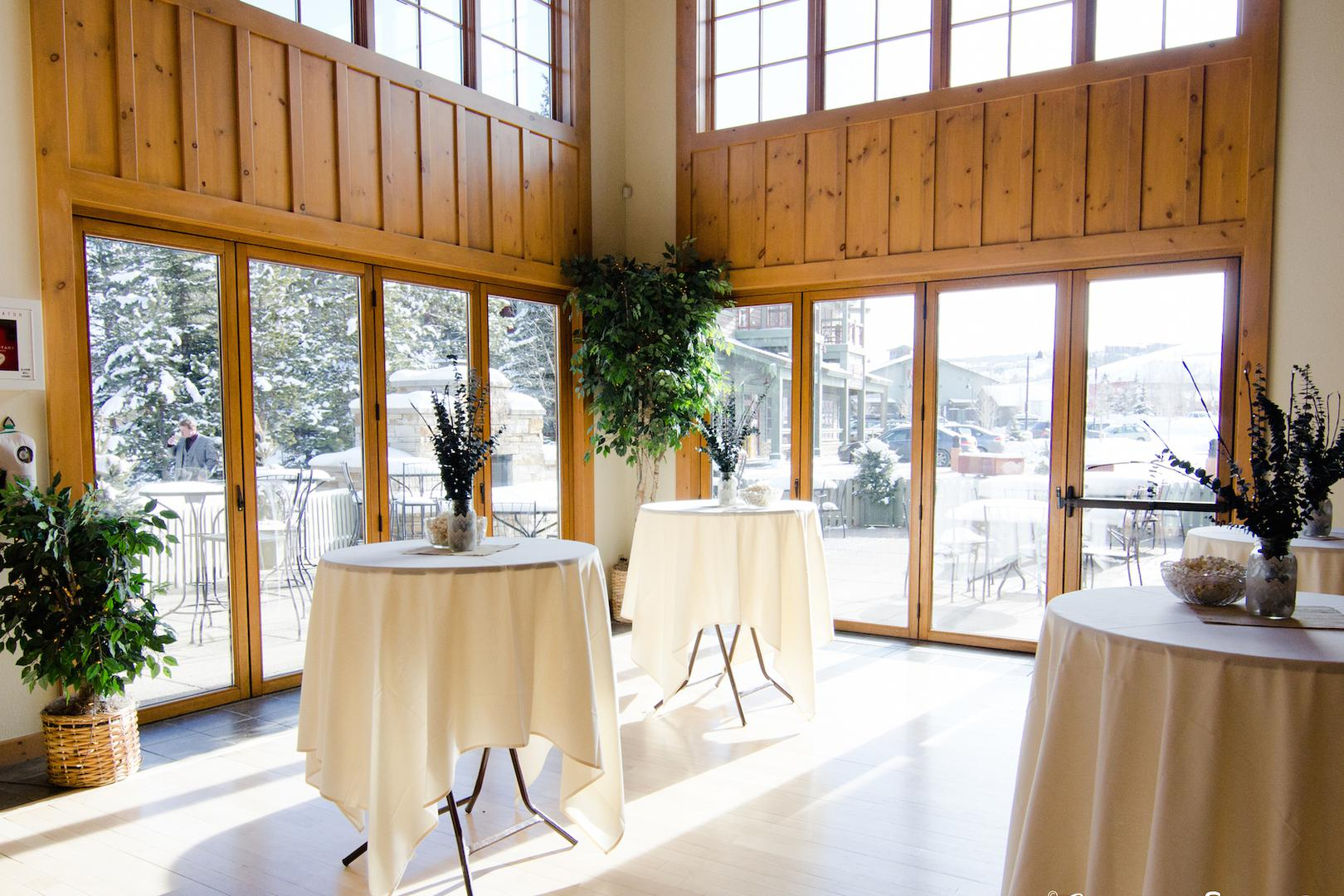 space at Silverthorne Pavilion